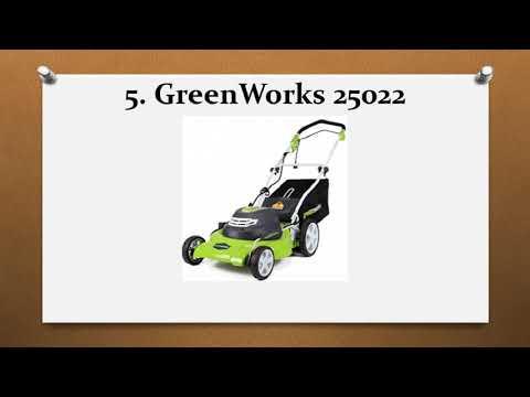 Top 10 Best Push Lawn Mowers in 2018