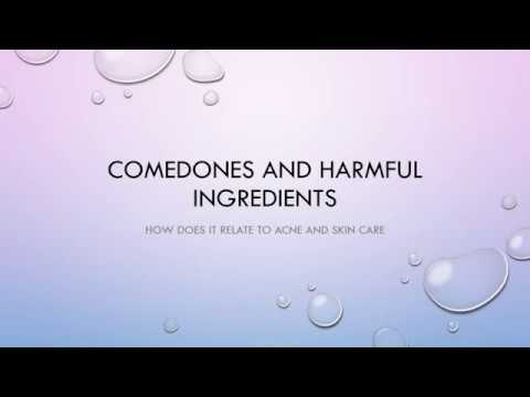 Home Acne Treatment Series: Comedones and harmful ingredients