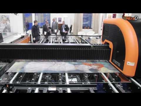 Digital Printing on Glass Machine