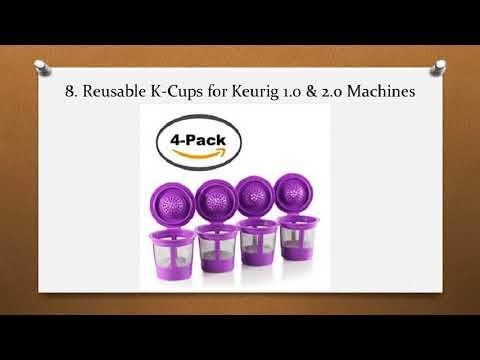 Top 10 Best Reusable K Cups in 2018 Reviews