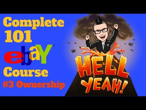 $$ The Complete 101 eBay Clothing Resale Course $$ Class # 3 Ownership & Sourcing