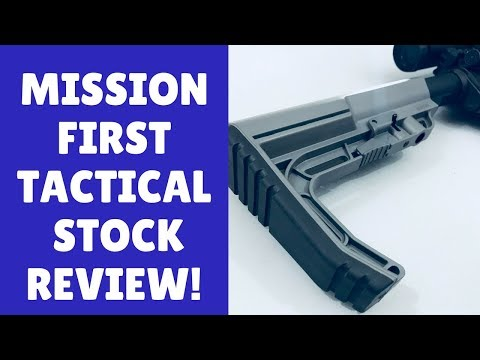 The Mission First Tactical Battlelink Minimalist (Top-Notch AR 15 Stock!)