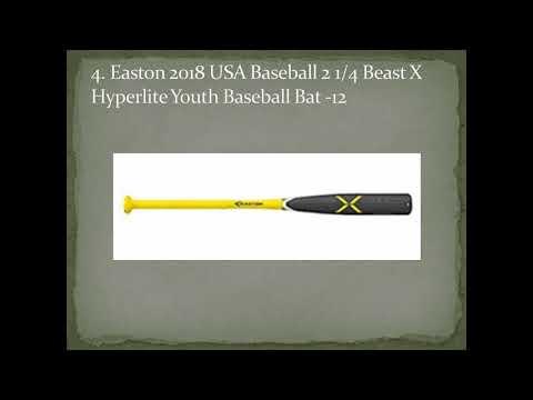 Top 10 Best Youth Baseball Bats