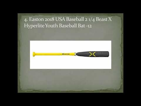 Top 10 Best Youth Baseball Bats