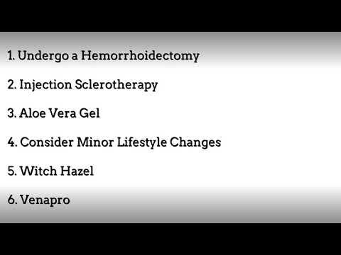 Treat Hemorrhoids Now