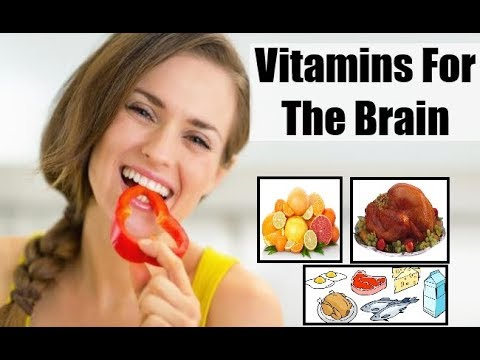 The Best Natural 4 Vitamins to Improve your Brain Performance