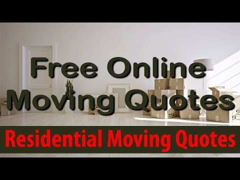 Residential Moving Quotes | Get 7 FREE Moving Quotes & Save Up To 35%