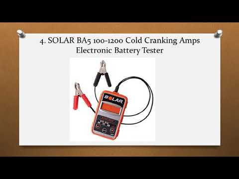 Top 10 Best Battery Load Testers in 2018 Reviews