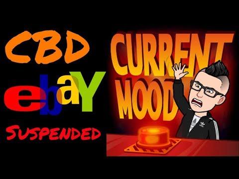 WARNING!! CBD Got My Ebay Selling Account Restricted $$ 3rd eBay Suspension