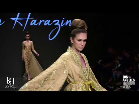 Lulu Harazin at Los Angeles Fashion Week powered by Art Hearts Fashion