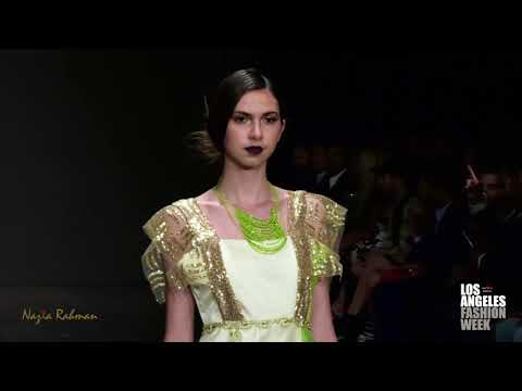 Nazia Rahman at Los Angeles Fashion Week powered by Art Hearts Fashion LAFW