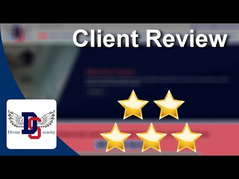 Divine Security LONDON Outstanding 5 Star Review by Joe D