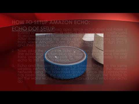How To Setup Amazon Echo Support