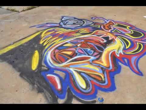 Atlanta Visual Artist Corey Barksdale Mural Art