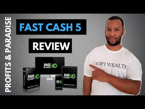Fast Cash 5 Review: Special Bonus & Back Office Tour