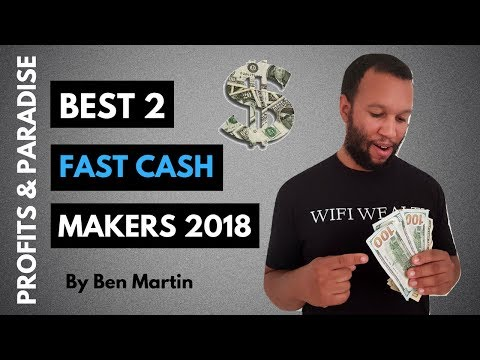 Affiliate Marketing Programs For Dummies | Best 2 Fast Cash Makers (2018)