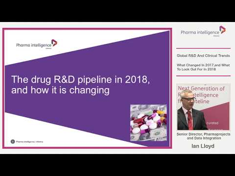 Global R&D & Clinical Trends with Pharmaprojects' Ian Lloyd | Informa Tokyo seminar