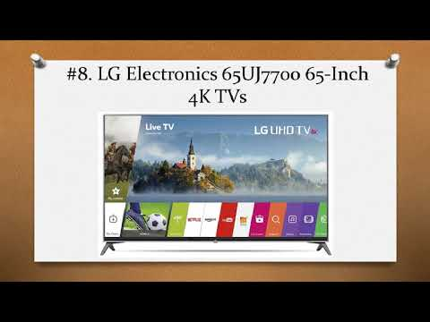Top 10 Best 65 inch TVs in 2018