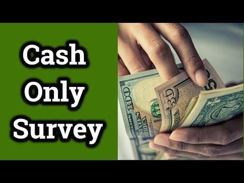 Cash Only Surveys