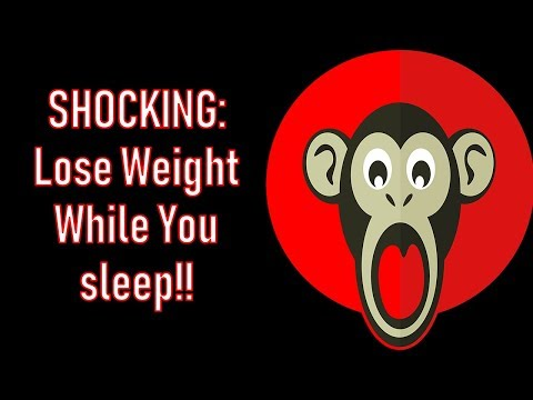 Shocking: Lose weight while you sleep! Miracle weight loss drink!