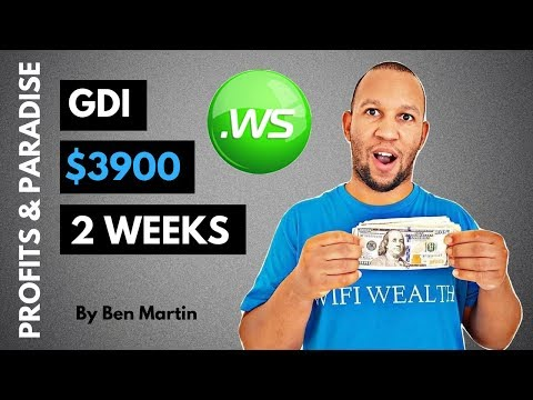 GDI Review | $3,900 In 15 Days With Global Domains International