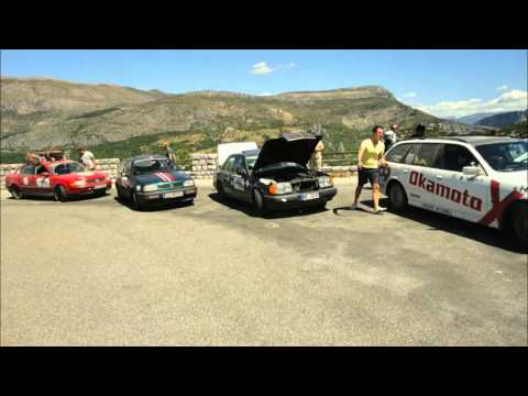 Rallye München-Barcelona 2015 Tem Kilometerfresser