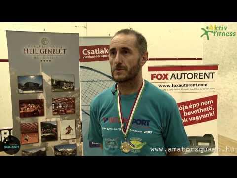 Debreceni Selejtező - Intersport IV. Szabadidős Squash OB