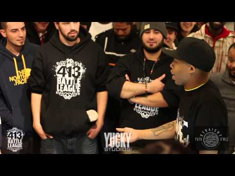 413 Battle League Tryouts  Paulie Paul vs Kamition