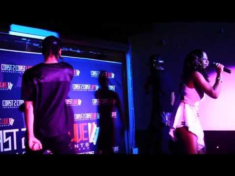 Kapri (@lyricallykapri) Performs at Coast 2 Coast LIVE   ATL All Ages Edition 7/12/15 - 3rd Place
