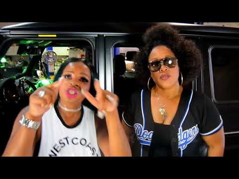 """REAL LA GIRLZ"" NEW GANKSTA MUSIC (Video) 'GBM' ICEGIRL DIAMOND/SYLK E FYNE FT. IAMMIE"