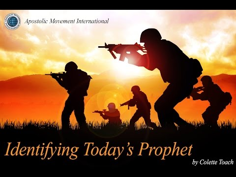 Identifying Today's Prophet by Colette Toach