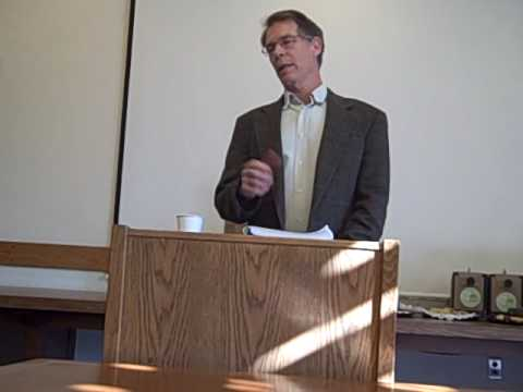 "1 Kim Stanley Robinson, ""Science, Religion, Ideology"" Part 1 - 1.29.10, Duke University"
