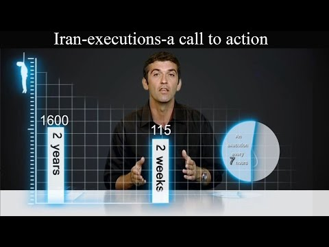 A call to rise against human rights violations in Iran