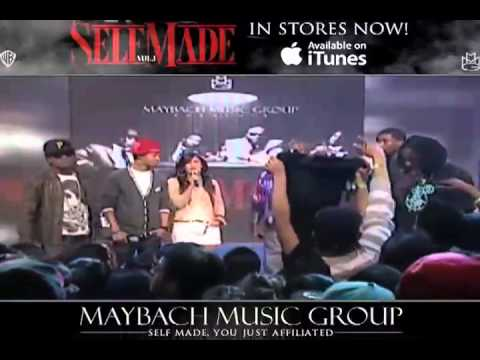 RICK ROSS INTRODUCES MAYBACH JAMAICA & MAYBACH MUSIC LATINO ON 106 & PARK (BET)