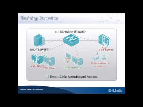 D-Link Auto Surveillance VLAN Training - Training Overview