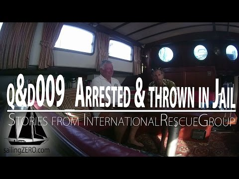 Arrested and thrown in jail - Bahamas