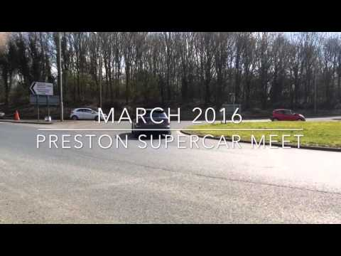 Preston Supercar Meet - March 2016