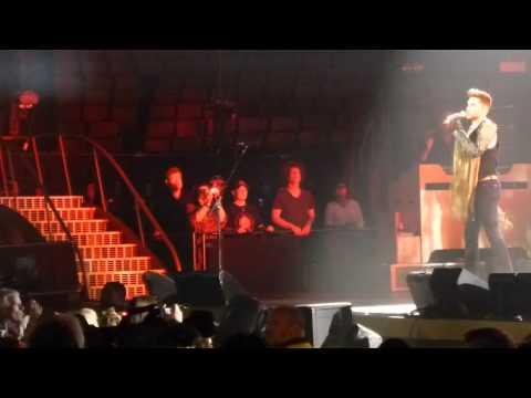 Adam Lambert & Queen Somebody to Love Toronto 2 07-28-2014