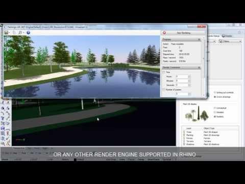 Lands Design Rendering & Visualization