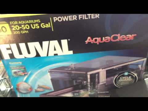Fluval Aquaclear 50 Power Filter