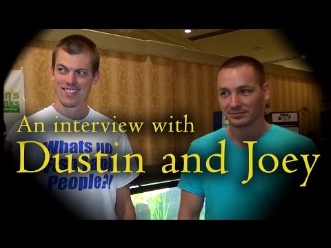 Dustin and Joey Interviewed at the ACA