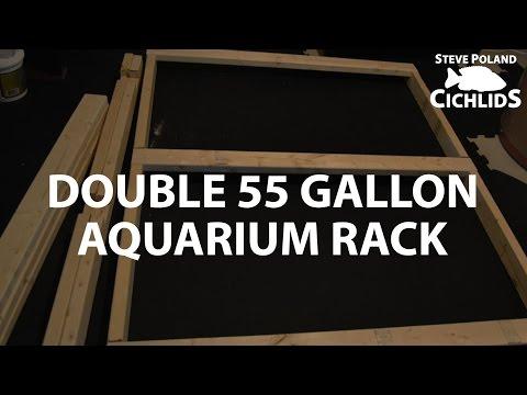 Double 55 Gallon Aquarium Rack