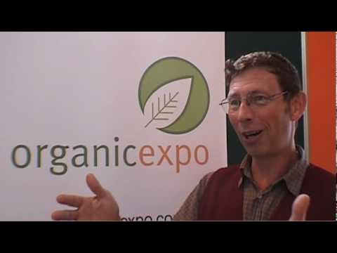 Jerry Coleby-Williams talks about growing organic