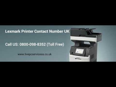Lexmark printer Technical Support 0800-098-8352 lexmark printer support