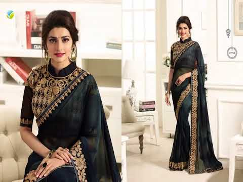 Buy Black Sarees Now In USA