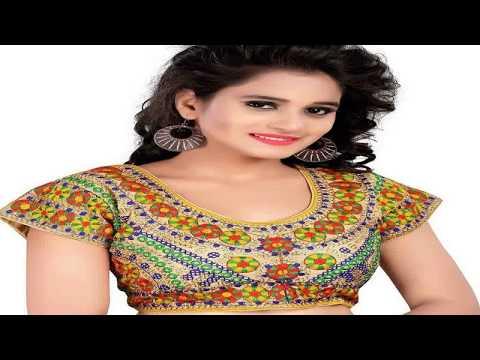 Types Of Designer Saree Blouses