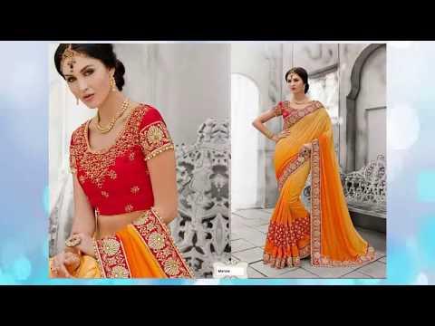 Indian Traditional Sari At USA