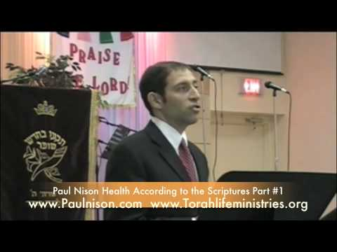 Health According to The Scriptures by Paul Nison