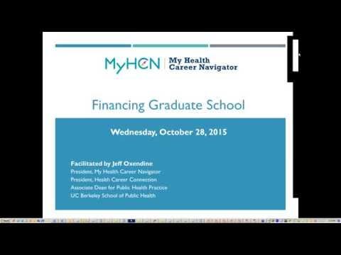 Financing Grad School: Where to Start