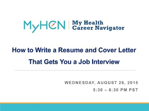 How to Write a Resume and Cover Letter That Gets You a Job Interview